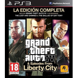Gta Iv Grand Theft Auto 4 Ps3 Complete Edition Oferta Lider!
