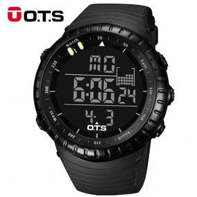 Relogio Ots Digital Esportivo Militar Shock Corrida T7005g