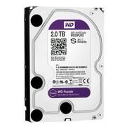 Disco Hdd Wd S 2 Tb 5400 S-ata3 Purple Surveillance 64mb