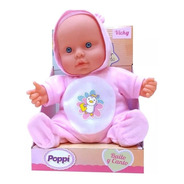 Muñeca Poppi Bebe Canto Y Bailo Poppi Baby