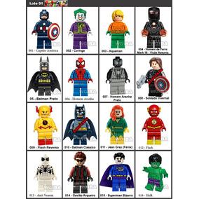 Lego Super Herois Vingadores Marvel Liga Compativel Promoção