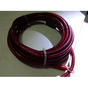 Cable 10 Para Planta.-marca Ughtnik-audio 5.26mm2/