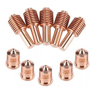Consumiveis Plasma Pmx45 5 Bicos 220671 E 5 Eletrodos 220669