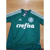 0b3d20159b Camisa Adidas Infantil Palmeiras Tamanho 2 Anos - Camisas de Times ...