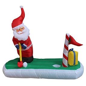Decoración Inflable De La Yarda De Golf Del Juego De Papá N