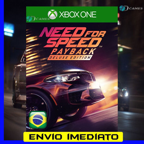 Need For Speed Payback Deluxe Xbox One 25 Dígitos 12x S/juro