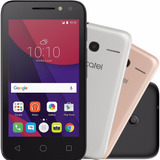 Smartphone Alcatel Pixi4 Metallic Dual Chip Android 6.0 4034