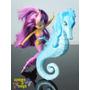 Mini Barbie Vida De Sereia 2 E Cavalo Marinho Mermaid Mattel