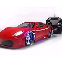 Mini Ferrari Carrinho Controle Remoto Leds Promoçao K20