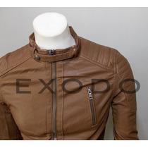 Chaqueta Eco-cuero,modelo Importado, Slim Fit, Exclusivo Xxl