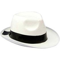 Sombrero Blanco De Gángster