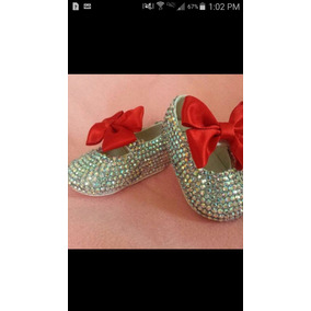 Zapatos Adornados Crystal. Bautizo