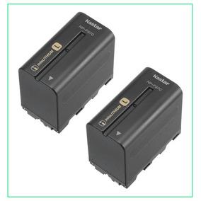 2 Baterias Np-f750 Para Camaras Sony Y Lamparas Led Yongnuo