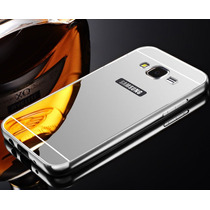 Case Lujo Mirror Bumper Protector Espejo Galaxy S6 Edge Plus
