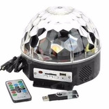 Luz Led Bola Crystal Magic Ball Light Fiesta Dj Boliche Usb