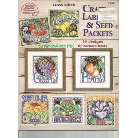 Revista Punto Cruz Vintage Create Labels & Seed Packets