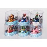 Super Mario Bros Karts Mario Yoshi Luigi Pvc 13 Cm Ajd 031