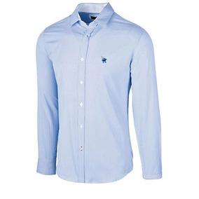 Camisa Polo Club Ca02024 Azul Blanco Caballero Oi