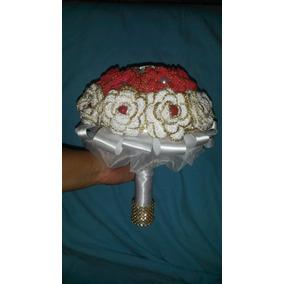 Buque De Noiva Em Crochê Com Brinde