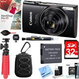 Canon Powershot Elph 360 Hs Cámara Digital (negro) + 32 Gb D