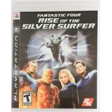 Quarteto Fantástico - Rise Of The Silver Surfer Ps3