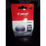 Cartucho De Tinta Canon Pg210 Negro