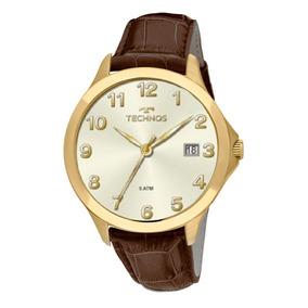 Relógio Technos Masculino Classic Couro - 1s13cl/2x