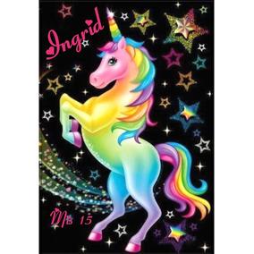 Souvenirs 10 Cajitas De Madera Personalizadas - Unicornio