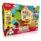 Disney Junior Mickey Mouse Pluto Club House Casa Del Arbol