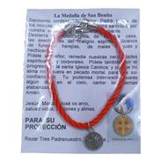Pack 50 Pulsera De San Benito, **protección**, Hecha A Mano.