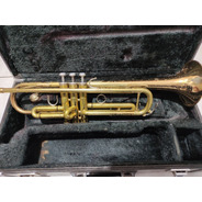 Trompete Yamaha Japão 4335g Sib Original Completo Dourado