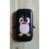 Funda Pingüino Silicona Nokia Asha 302