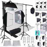 Kit De Luces Y Estudio Fotográfico Plus Delux Profesional