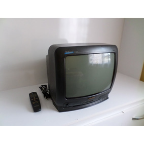 Televisão Tv 14 Polegadas Gradiente Tubo Ideal P Retro Games