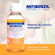 Antibenzil Antiséptico Germinicida Quirúrgico Tintura 115 Ml