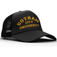 Gorra Trucker Universidad De Gotham Batman Comics Dos Caras