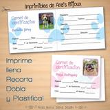 Carnet De Identificacion Para Mascotas (digital)