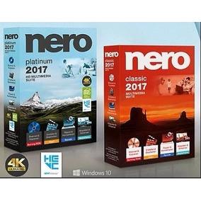 Grabador Nero Platinum 2017 - Permanente Garantizado