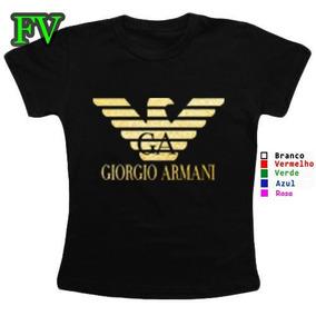 4f154d6063567 Camiseta Giorgio Armani Preta Original Stretch - Camisetas e Blusas ...