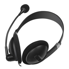 Auriculares Con Micrófono Vincha Pc Noganet Ngv-500