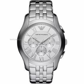 Relógio Empório Armani Ar1702 Aço Prata R56