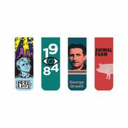 Marcador De Página Magnético Kit 4 Marcadores George Orwell
