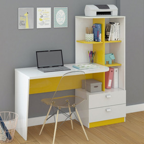 Mesa Para Computador Com Estante Elisa Permobili Hj