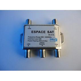 Chave Diseqc 4x1, Espace Sat Hs-41a, Pronta Entrega