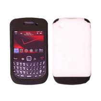 Oem Verizon Dual Cubierta Caso Para Blackberry Curva 3g /