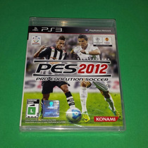 Pes 2012 - Pro Evolution Soccer 12 Novo Playstation 3 Ps3