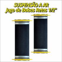 Par De Bolsa De Ar Reta 12mm - Fiat Uno Antigo 2006
