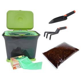 Compostera De Plastico Cocina U Oficina Con Accesorios