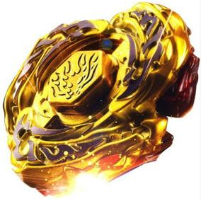 Beyblade Metal Fusion 4d Set L-drago Gold Df105lrf +lançador