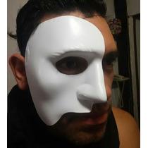 Fantasma De La Opera Mascara Plastica Obras Terror Fiestas
